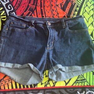Levi's women's denim shorts